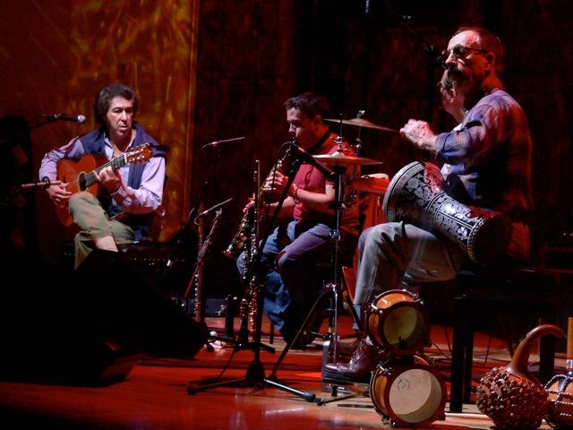 Juan Martín Paul Fawcus y Chris Karan