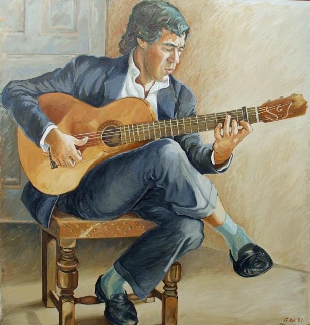 Vojsava Fakhro painting of Juan