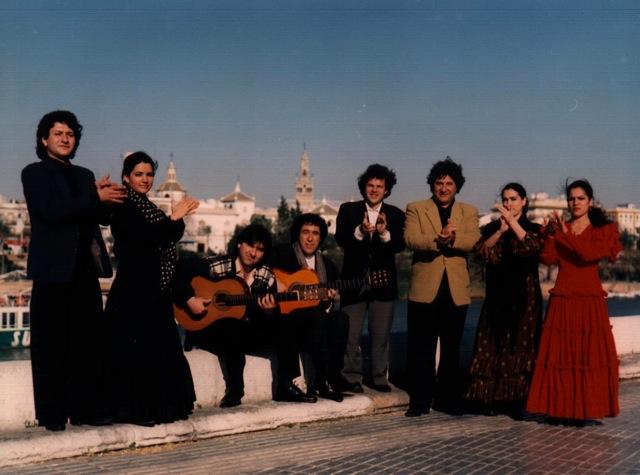 Juan Martín Compañia Flamenca con Eva Yerbabuena 1995