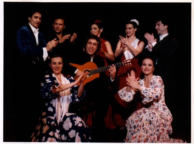 Juan y su compañia flamenca