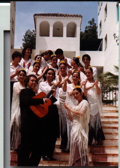Juan y su grupo Malagueño de Estambul
