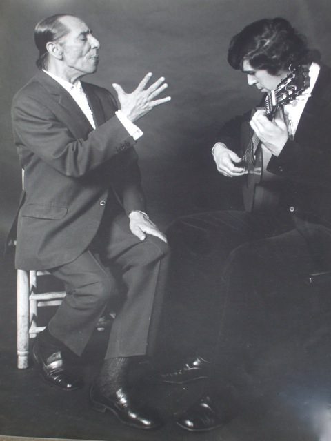Rafael Romero 'ElGallina' y Juan Martín